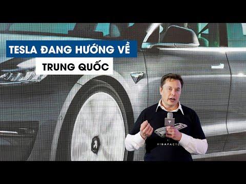 Tesla của tỉ phú Elon Musk hướng về Trung Quốc