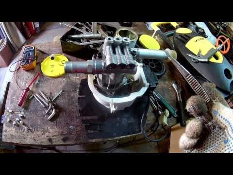 Ремонт минимойки HUTER