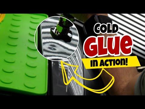 Hail Damage Repair Using Cold Glue - Paintless Dent Repair Training Review