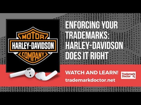Enforcing your trademarks: Harley does it right