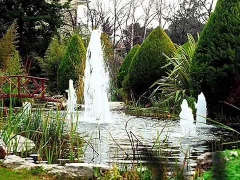 Элегантное украшение для сада - декоративные фонтаны