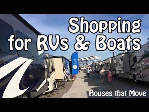 Finding your Ideal RV or Boat -Tips for Shopping for Tiny Houses that Move