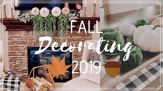 FALL DECORATE WITH ME 2019 | FALL DECOR IDEAS | MODERN FARMHOUSE
