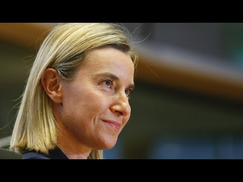 The EUs foreign policy chief: Federica Mogherini