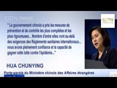 MAE: la Chine a confiance dans sa capacité à maîtriser la situation