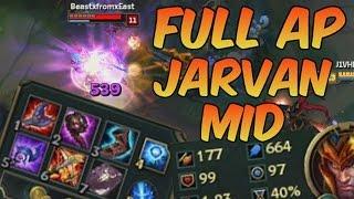 650+ FULL AP BUILD JARVAN - League of Legends