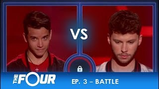 Christian vs James: Young Latin Talent TAKES ON a British Star! | S2E3 | The Four