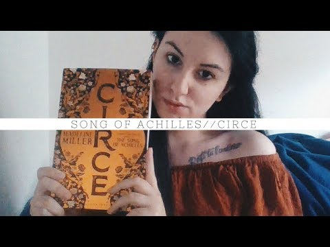 Song of Achilles & Circe // Thank you Madeline Miller!