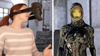 The MASK Girl - Returns 6 (She-VENOM Mask, Copy) Fortnite Dance (Full Short)