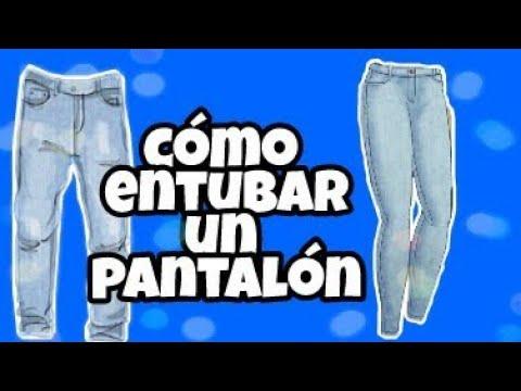f9fbcc36ad COMO ENTUBAR UN PANTALÓN