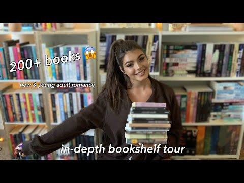 BOOKSHELF TOUR (my romance library)