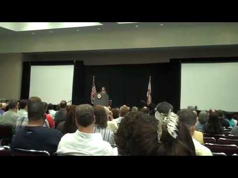 Debbie Wasserman Schultz Speaks about the passage of the Small Business Entrepreneurship Act