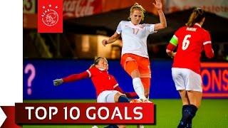 TOP 10 GOALS - Oranje Leeuwinnen