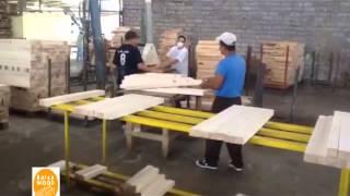 Těžba Balsy - Balsa Wood Processing