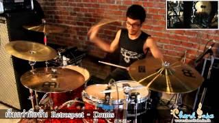 เจ็บกว่าคือฉัน เบิร์ท Retrospect Drums Demonstration by www.chordtabs.in.th Full Song