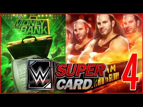 WWE SUPERCARD #4 | RECOMPENCES MONEY IN THE BANK & TEAM ROAD TO GLORY !