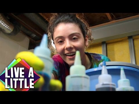 DIY Tie Dye | Live A Little