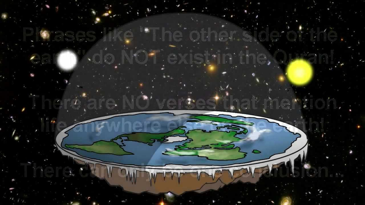What the QURAN says about the SHAPE OF THE EARTH...