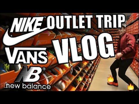 Crazy Outlet Trip!!! #3 (Nike, New balance, Vans)