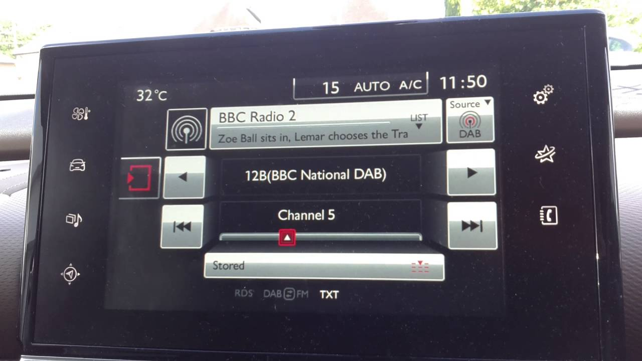 Citroen C4 Cactus: Delete Bluetooth devices from the system