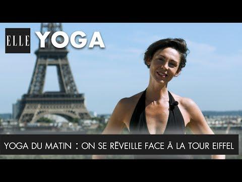 Yoga du matin : On se réveille face à la tour Eiffel | ELLE Yoga