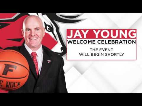 Fairfield University Welcomes Head Men's Basketball Coach, Jay Young