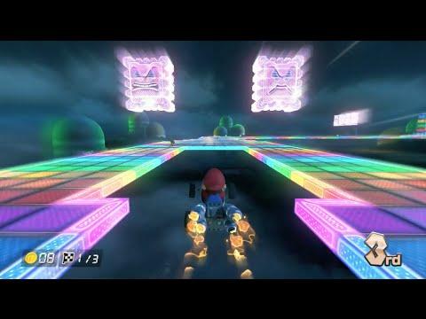 Mario Kart 8: SNES Rainbow Road [1080 HD]
