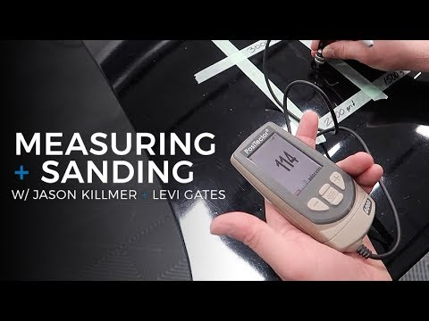 Wet Sanding & Advanced Polishing: E4 - Sanding & Measuring