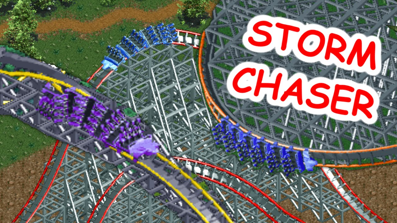 Realistic Storm Chaser Recreation (RollerCoaster Tycoon 2)