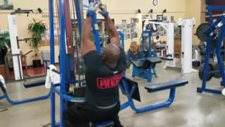 Pulldowns and DB press