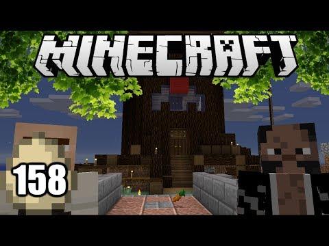 Minecraft Survival Indonesia - Kastil Pohon! (158)