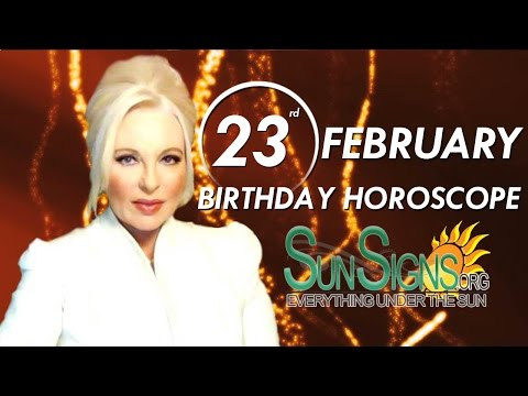 Birthday February 23rd Horoscope Personality Zodiac Sign Pisces Astrology