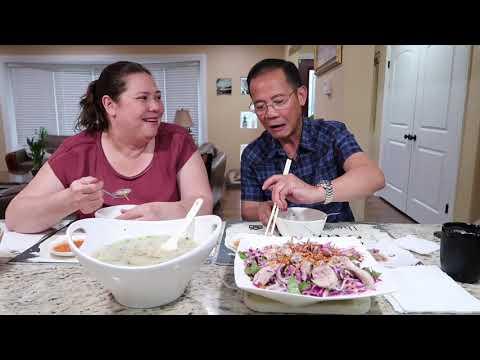 Vlog 194 Ll Gỏi Và Cháo Vịt Cho Bữa Ăn Tối. Tâm Sự Cùng đại Gia đình