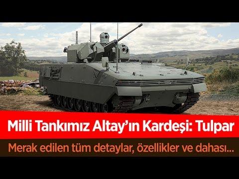 Milli Savaş Tankımız Altay'ın Kardeşi: Tulpar