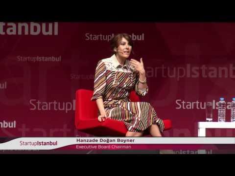 Panel: Chistopher Schroeder & Hanzade Doğan Boyner - Startup Istanbul 2016
