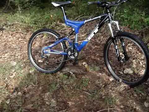 gt i drive 3 0 full suspension bike youtube