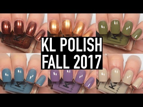 KL Polish - 70s Vibes (Fall 2017) | Swatch & Review