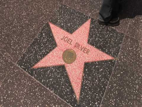 Joel Silver Die Hard Lethal Weapon Movie Producer Star Walk of Fame Hollywood Boulevard Los Angeles