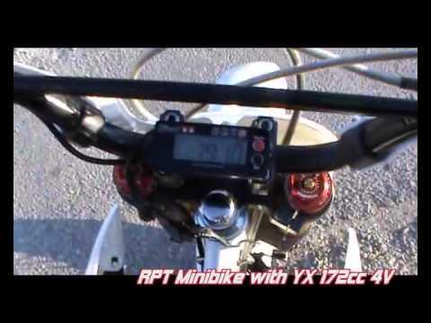 YX 172cc engine with 4 valves head