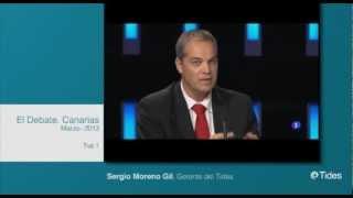 Extracto de participación de Sergio Moreno Gil en el programa