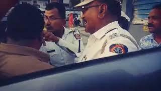 Pune Traffic police dadagiri part 2