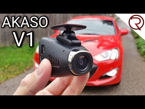 An Affordable Dash Camera With GPS And WiFi - Akaso V1 Review
