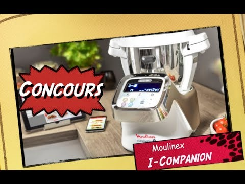 concour companion moulinex thermomix cookeo connect youtube. Black Bedroom Furniture Sets. Home Design Ideas