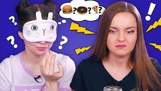 ЧТО У МЕНЯ ВО РТУ?! Склизко и остро! Пробуем странные продукты c Викой Блисс MyPack | Реакция thumbnail