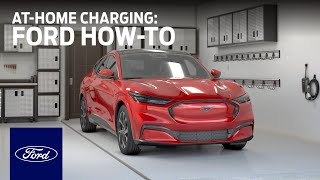 homepage tile video photo for Ford Mustang Mach-E: At-Home Charging   Ford How-To   Ford