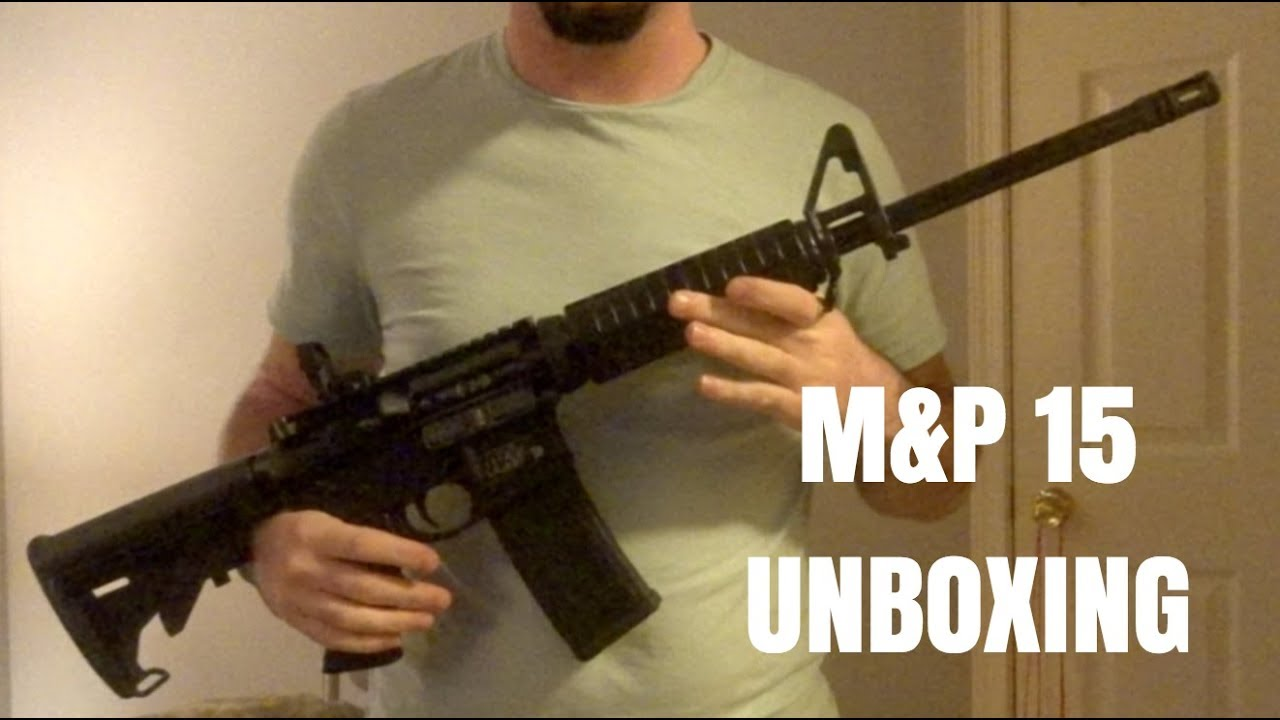 Smith & Wesson M&P 15 Sport II UNBOXING