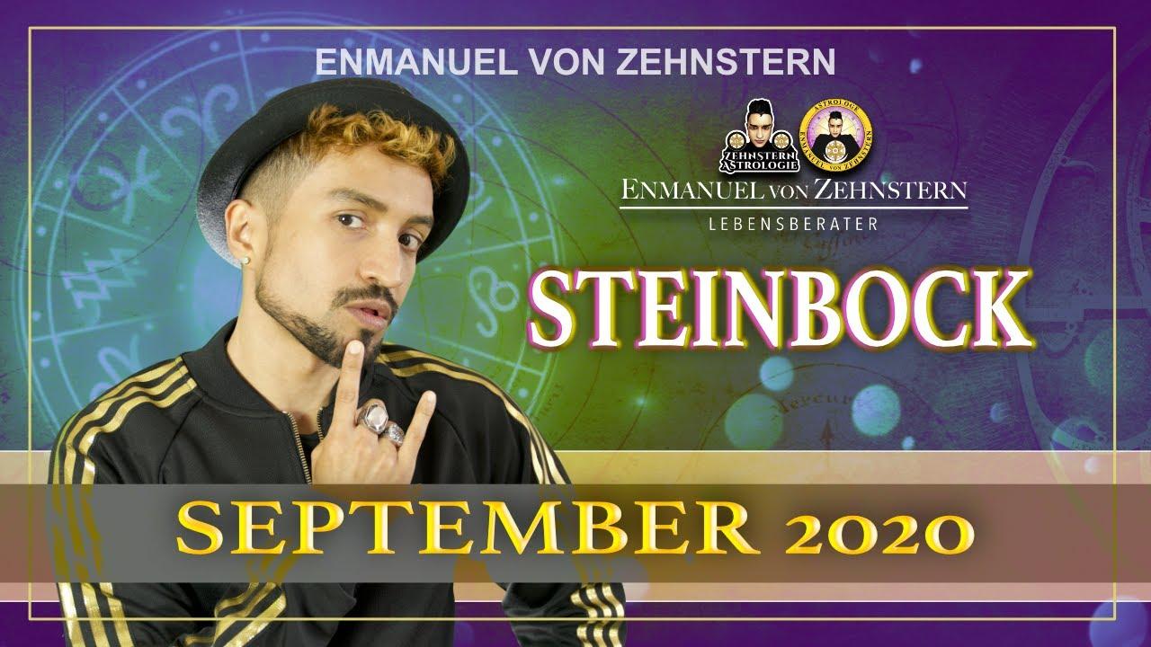 STEINBOCK ASZENDENT UND STERNZEICHEN HOROSKOP SEPTEMBER 2020   #ZehnsternAstrologie.com