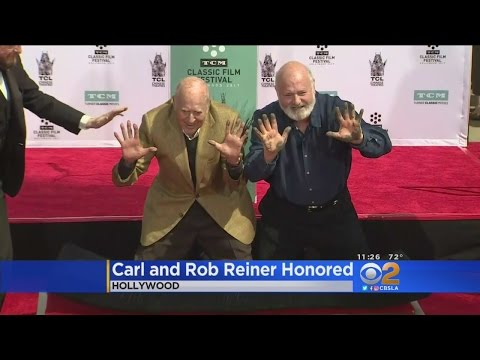 Carl, Rob Reiner Honored At TCL Chinese Theatre