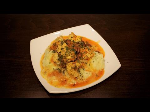 Курица в мультиварке с фасолью в томатном соусе