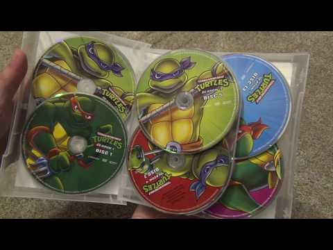 Teenage Mutant Ninja Turtles The Complete Classic Series Collection DVD Unboxing